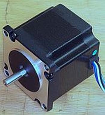 Schrittmotor und Stromverbrauch